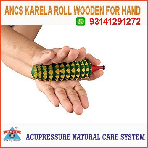 Acupressure Karela Roll (Wooden)