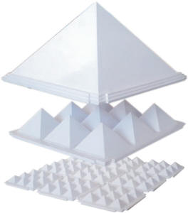 Pyramid Set White-Best 4.5