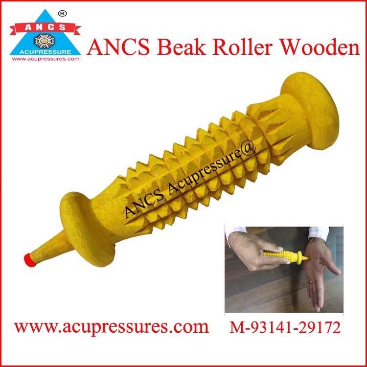 Acupressure Beak Roller (Wooden)
