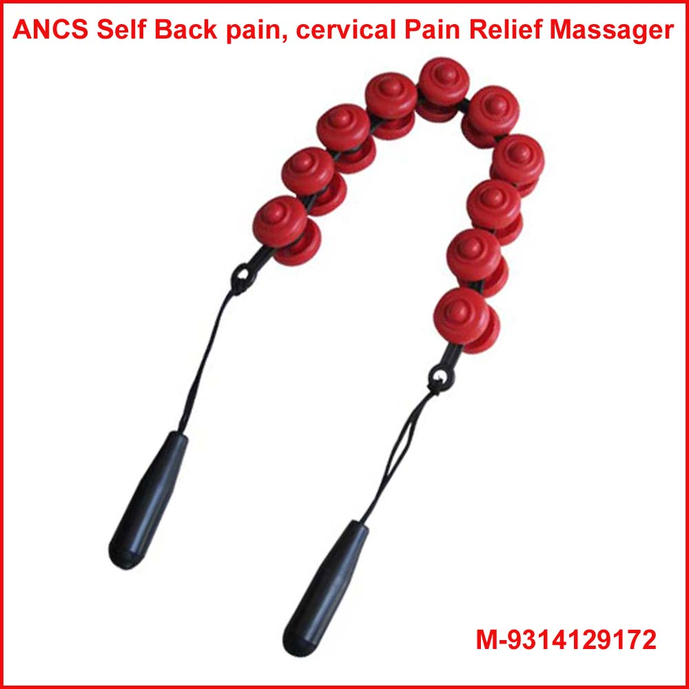 Acupressure Self Massager-Red